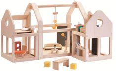 Plan Toys przenośny domek dla lalek