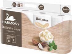 Harmony toaletni papir DELICATE CARE Shea Butter 8x8 rola, 3 sloja
