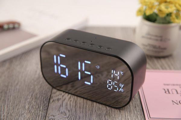 rádiós ébresztőóra akai abts-s2 hordozható hangszóró aux bemenet 2× 3 W teljesítmény handsfree telefonálás