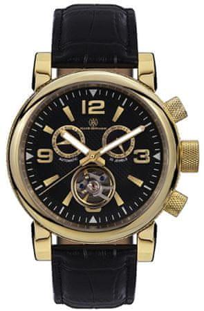 Mathis Montabon pánské hodinky MM-22 La Grande černá - zánovní