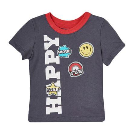 Garnamama chlapčenské tričko 74 sivá
