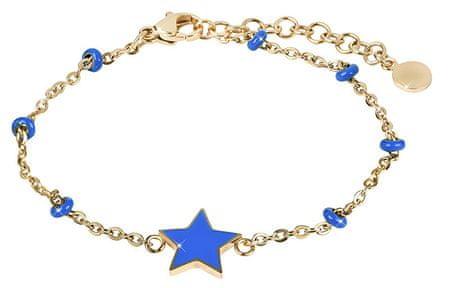 Morellato Pozlačena zapestnica z zvezdico Enjoy SAJE34