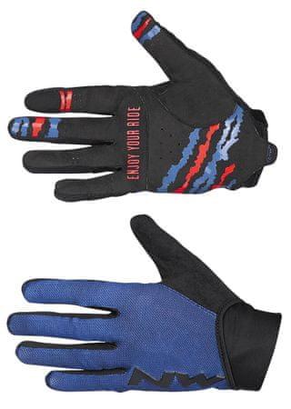 Northwave moške kolesarske rokavice Mtb Air 3 Full Gloves, L, modre