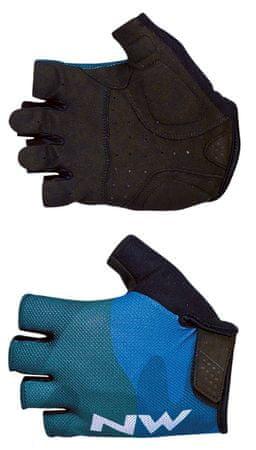 Northwave Flag 3 Short Gloves M kék
