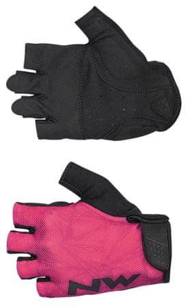 Northwave Flag 3 Woman Short Gloves XL rózsaszín