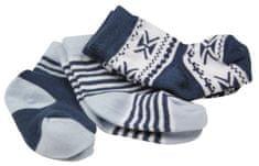 Dirkje chlapčenský set troch párov ponožiek