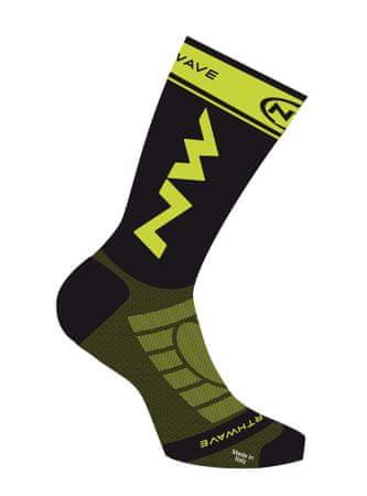 Northwave Extreme Light Pro Socks S fekete/sárga