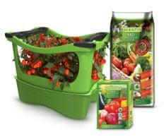 U-GREENY greda Planter Box sa zemljom i gnojivom, zelena