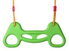 Woody Pierścienie na biegunach, plastikowe - zielone