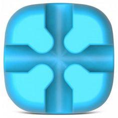 Orico samoljepljivi držač kabela, silikon, plava, CBSX-BL