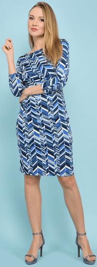 Un Coeur en Ete dámské šaty Begonia 38 modrá