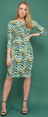 Un Coeur en Ete dámske šaty Begonia 36 zelená