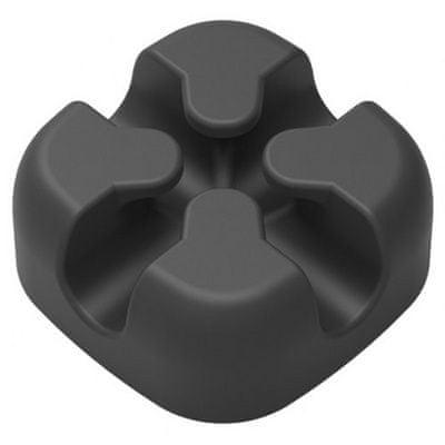 Orico samolepilno držalo za kable, silikon, črno, CBSX-BK