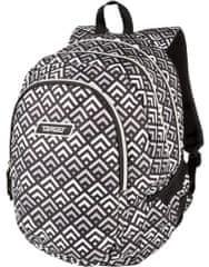 Target ruksak 3 Zip Duel Grey Pyramids, 26297