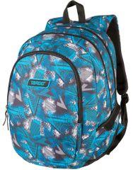 Target ruksak 3 Zip Abstract, plavi, 26298