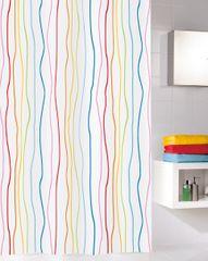 Kleine Wolke Textilný sprchový záves JOLIE 180 x 200 cm multi