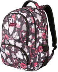 Target ruksak Bravo Heartbeat, crni, 26319