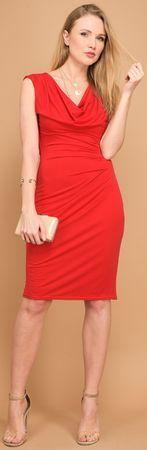 Un Coeur en Ete ženska haljina Iris, 40, crvena