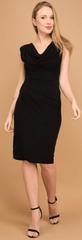 Un Coeur en Ete dámské šaty Iris černá 44 - rozbaleno