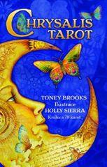 Brooks Toney: Chrysalis Tarot - Když se nevědomé stane vědomým (kniha a 78 karet)
