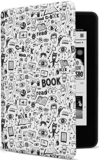 Connect IT Pouzdro pro Amazon NEW Kindle Paperwhite 4 (2018) CEB-1043-WH, bílé