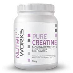 NutriWorks Pure Creatine Monohydrate 500 g