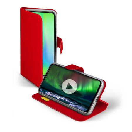 SBS preklopna torbica za Huawei P30, rdeča