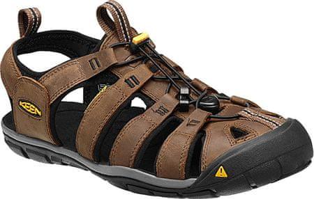 KEEN Pánské sandále Clearwater CNX 1013106 Dark Earth/Black (Velikost 42)
