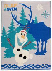 Carpet your life Dětský koberec Frozen - Olaf a Sven, 95x133 cm