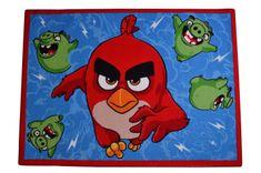 Carpet your life Dětský koberec Angry Birds Ruďák a Čuně, 95x133 cm