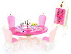 Lamps Glorie Jídelní set s doplňky pro panenky