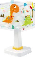 Dalber Dětská stolní lampička, dinosaurus