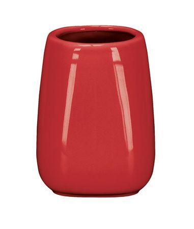 Kleine Wolke kubek łazienkowy CONE, czerwony