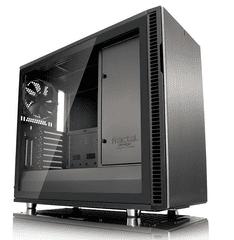 Fractal Design kućište Define R6 USB-C Gunmetal TG MidiATX, prozor, crno
