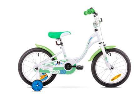 Romet otroško kolo Tola 20, belo-zeleno