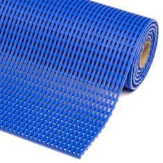 Modrá bazénová protiskluzová rohož Akwadek - 10 m a 1,2 cm