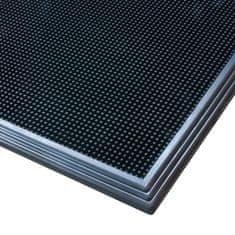 Černá gumová hygienická dezinfekční rohož Sani-Trax - 60 x 45 x 1,9 cm