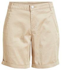 VILA Ženske kratke hlače Chino Rwre New Short s-Noos Soft Camel