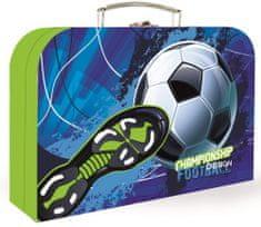 Karton P+P Kufřík lamino 34 cm Fotbal