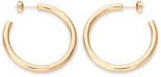 Rosefield Luxusné pozlátené náušnice kruhy Iggy JCHBG-J081