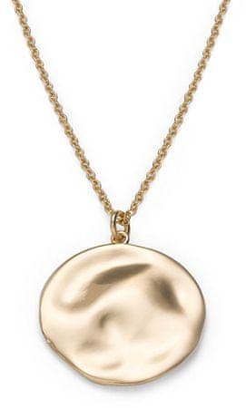 Rosefield Pozlačena jeklena ogrlica Iggy JTXCG-J078