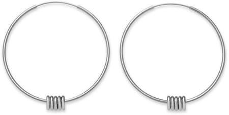 Rosefield Acél gyűrűs fülbevalók Iggy JSHLS-J068