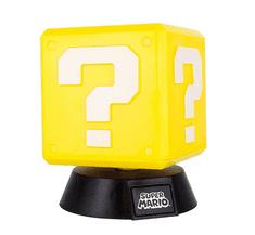 Paladone svjetiljka Super Mario Question Block 3D