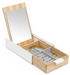 Umbra Pudełko na biżuterię Reflexion White / Natural 290242668