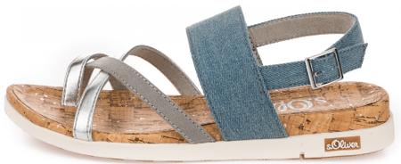 s.Oliver ženske sandale, 37, šarene