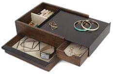 Umbra Pudełko na biżuterię STOWIT orzech / czarny 290245048