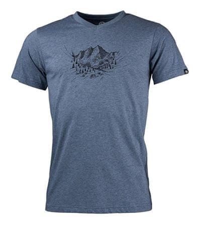 Northfinder Męska koszulka Abelin Melangeblue TR-3390OR (rozmiar M)