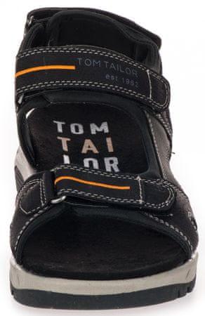 Tom Tailor férfi szandál 43 fekete   MALL.HU