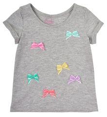 Garnamama dekliška majica s pentljami