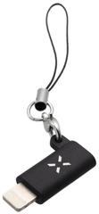 Fixed Redukcia Link pre nabíjanie a dátový prenos z USB-C na Lightning, čierna